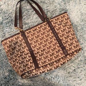 Michael Kors duffle bag/carry all bag